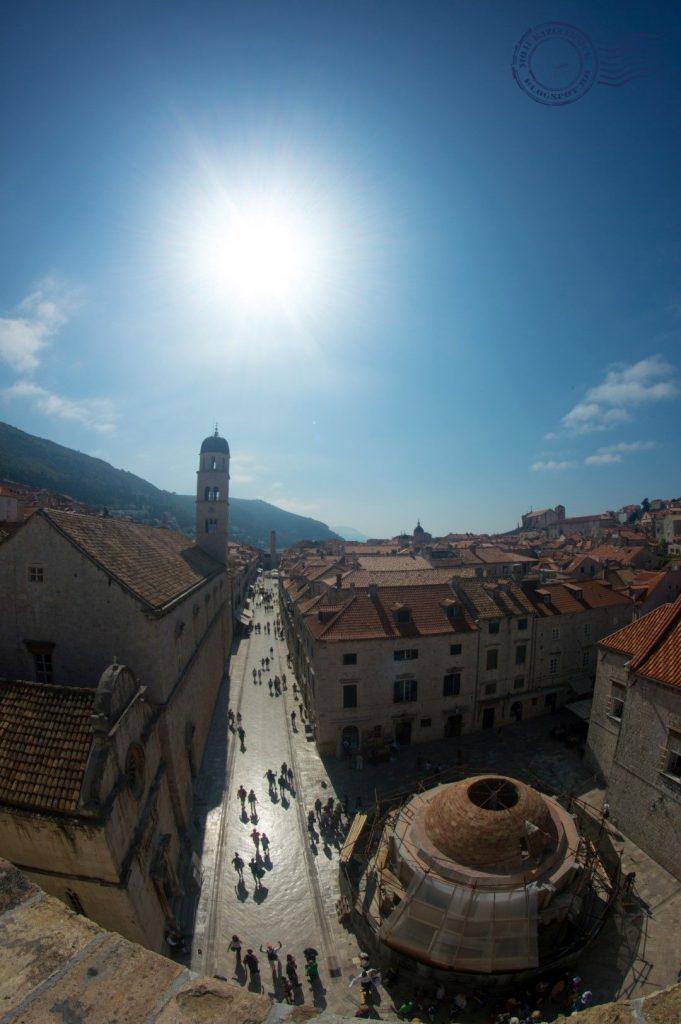 Stradun Dubrovnik zidine