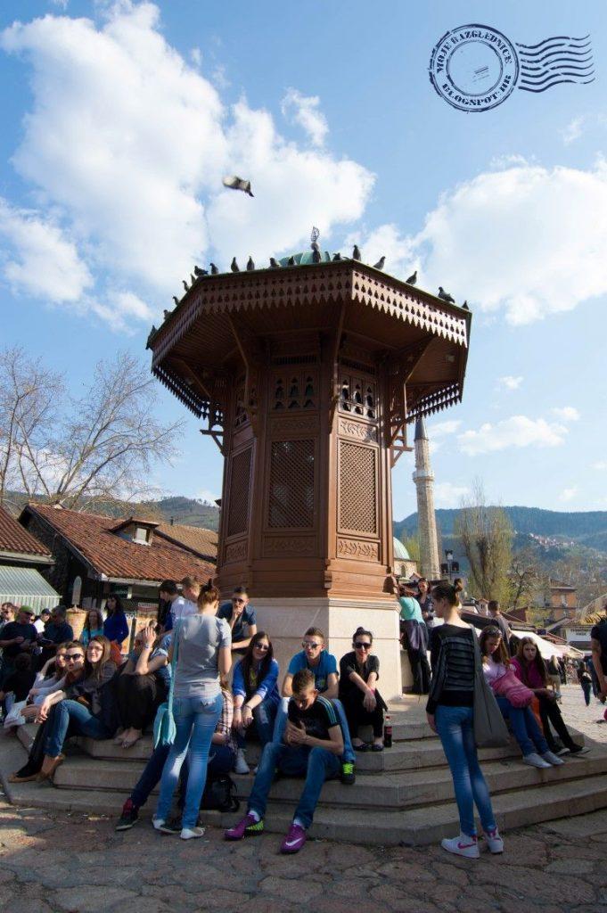 Sarajevski sebilj, barščaššija