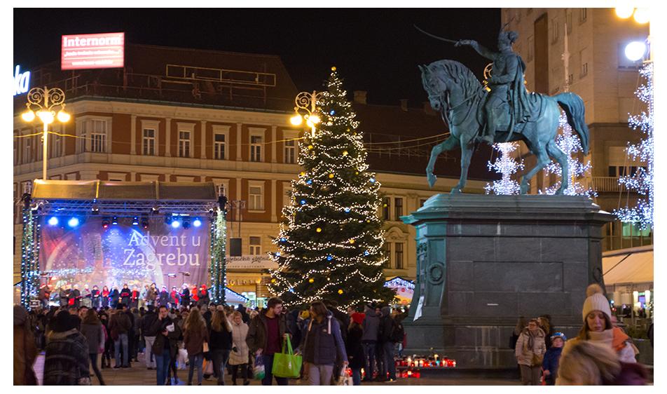 Advent Zagreb Moje Razglednice