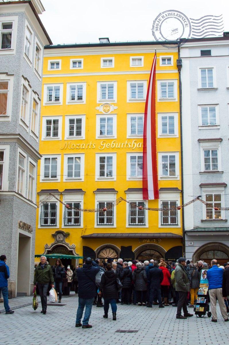 Salzburg - Mozartova rodna kuča
