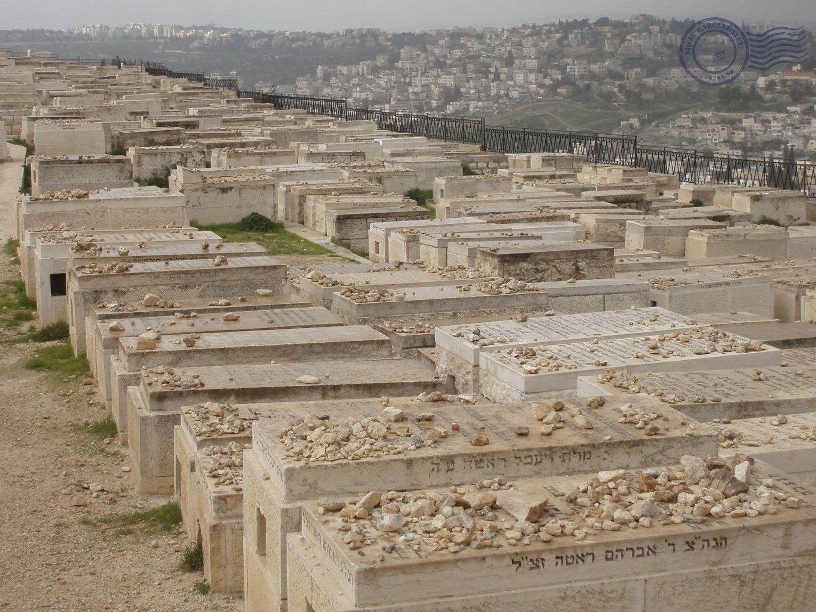 Maslinska gora, židovsko groblje, Jeruzalem
