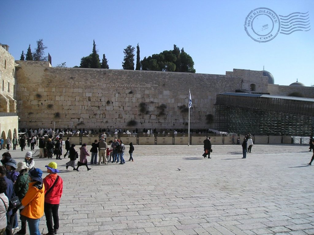 Zid plača, Jeruzalem