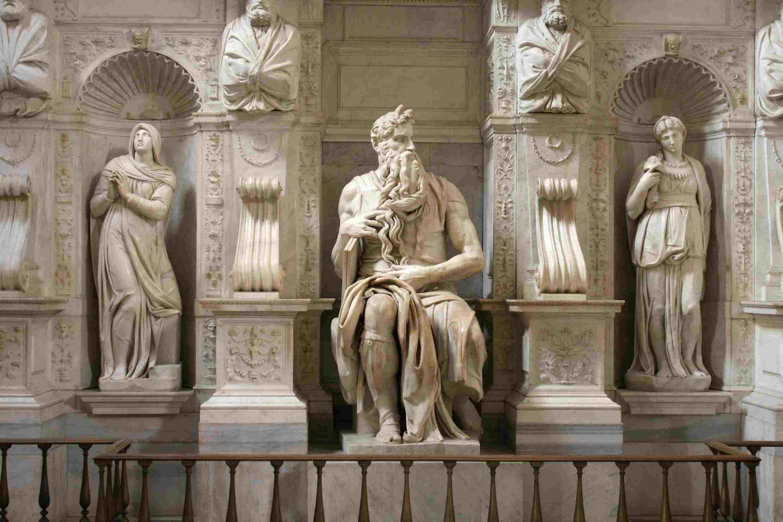Michelangelo- Mojsije