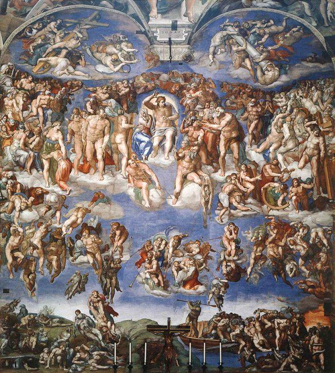Michelangelov Posljednji sud