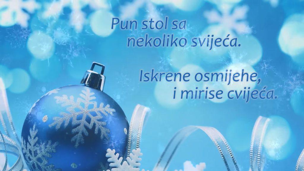 Sretan vam Božić od srca! (Božićna čestitka)