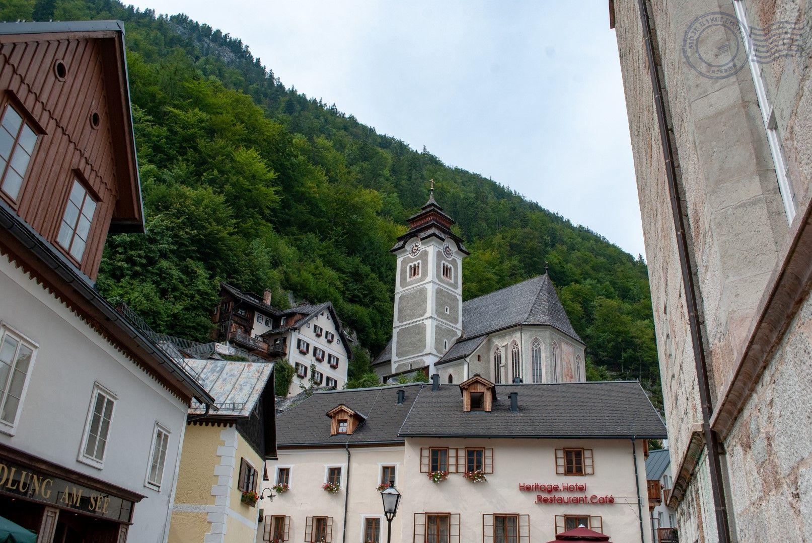 Hallstat, Austria crkva