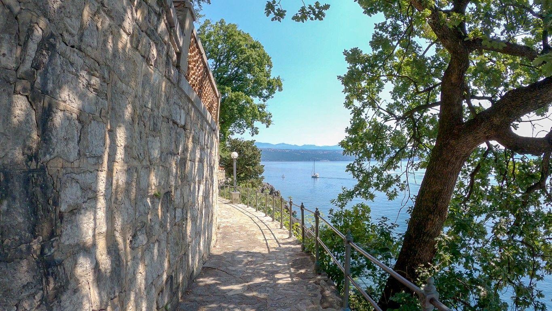 Lungomare Opatija promenade, Franc Josef walk