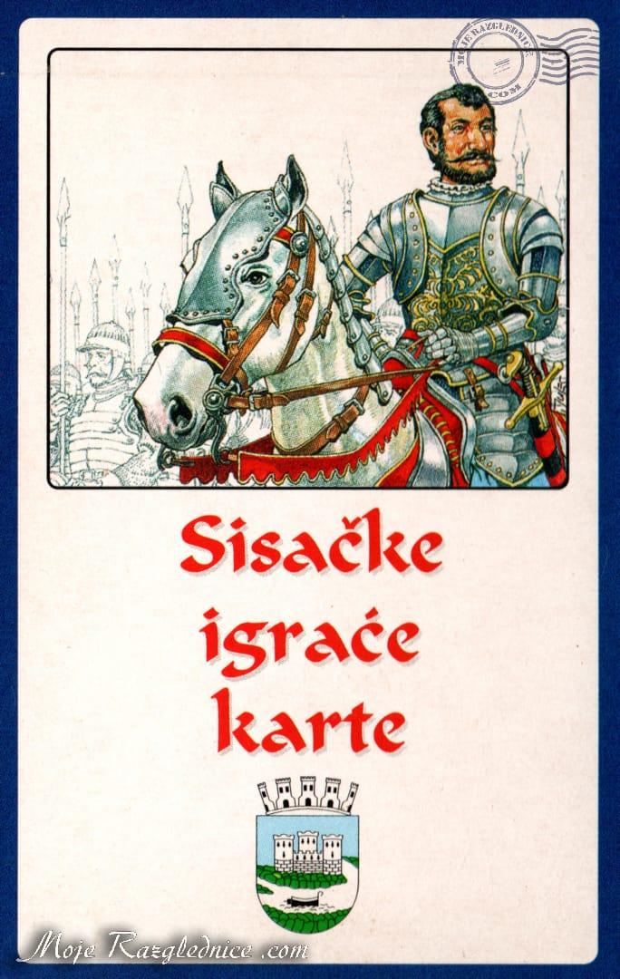 Sisačke igrače karte - Suvenir - Sisak, Croatia