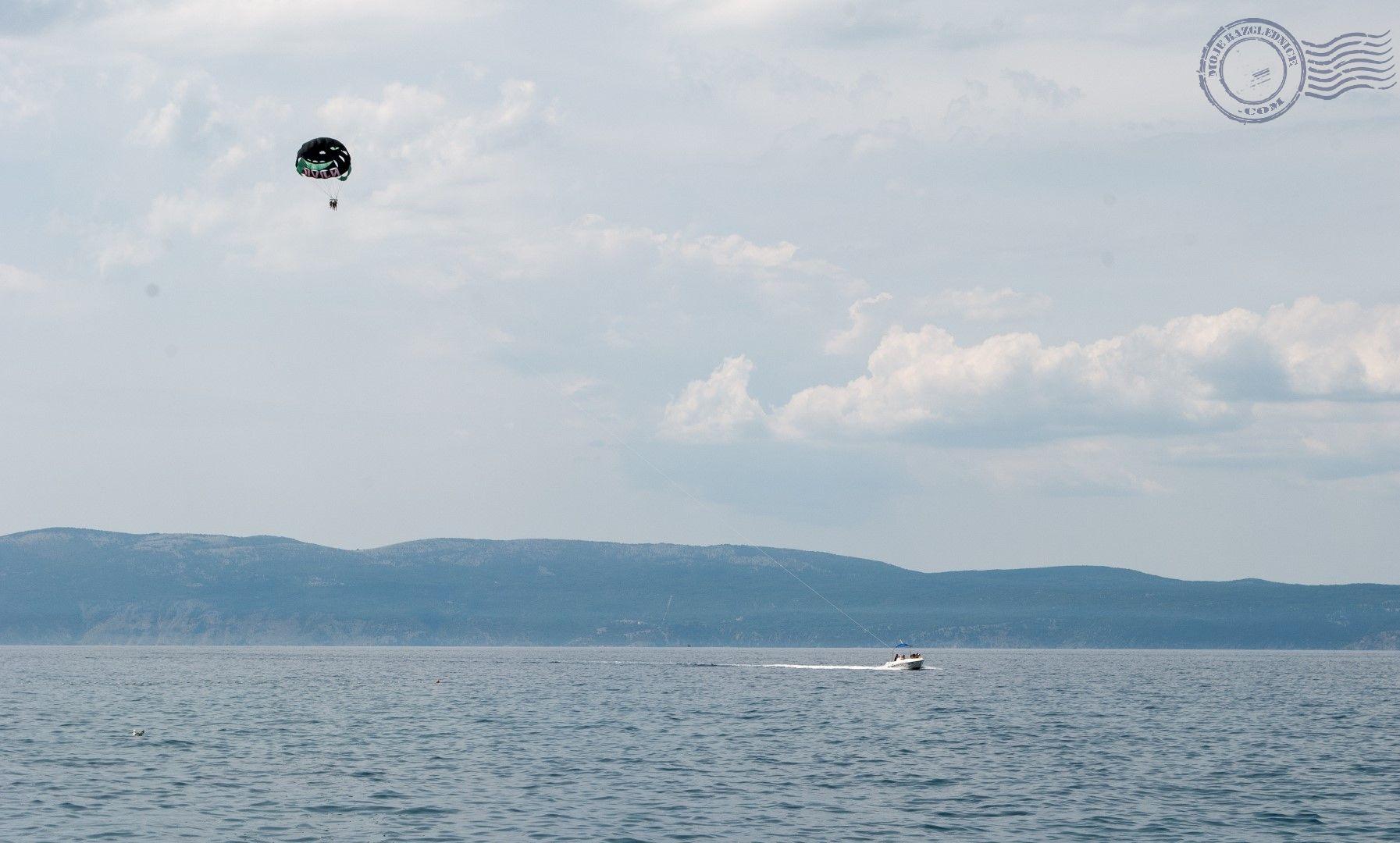 njivice paragliding paraglider