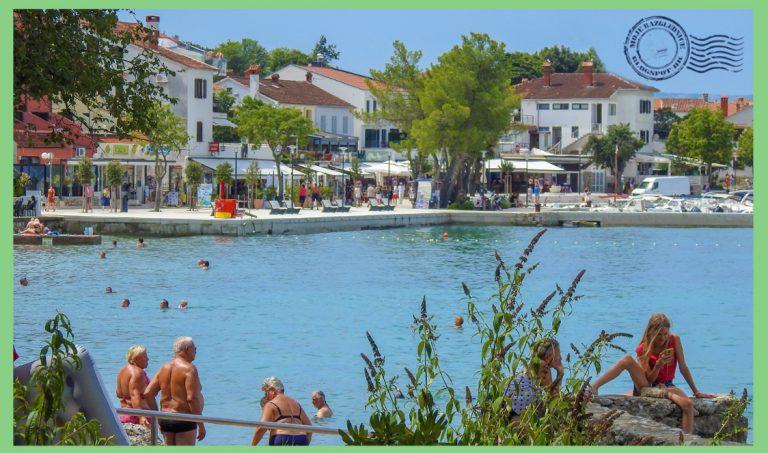 Njivice, otok Krk, Croatia