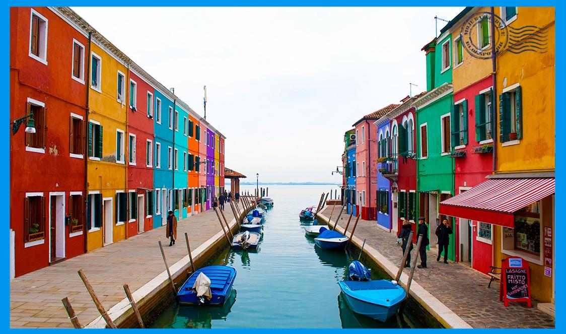 078. Otoci lagune: Murano, Burano, Torcello - Italija