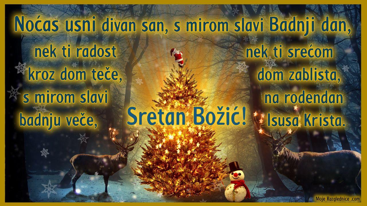 Najljepše Božićne Čestitke sa stihovima (4)