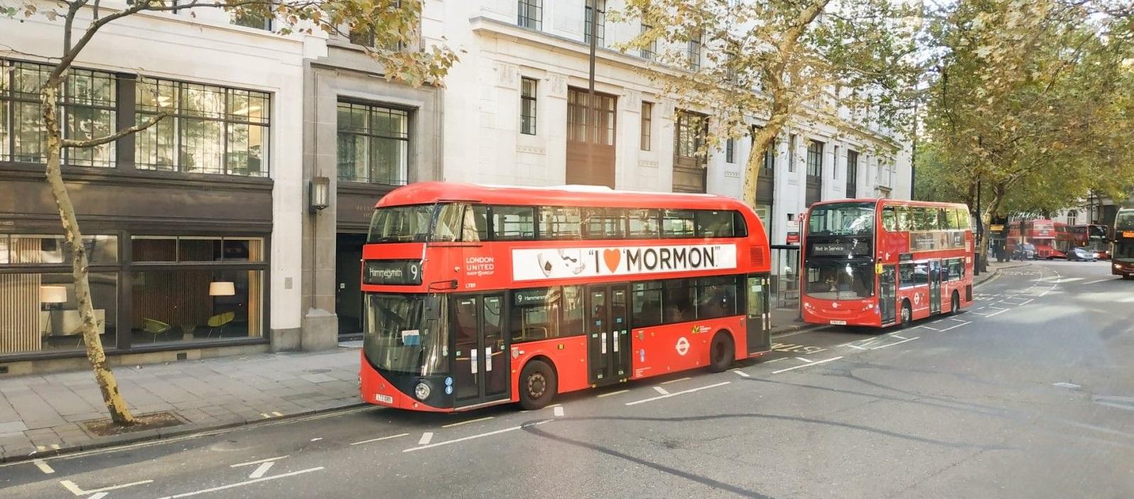 London, Pariz - putopis Autobus na kat