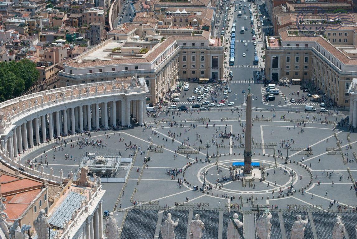 Vatikan, trg sv. Petra