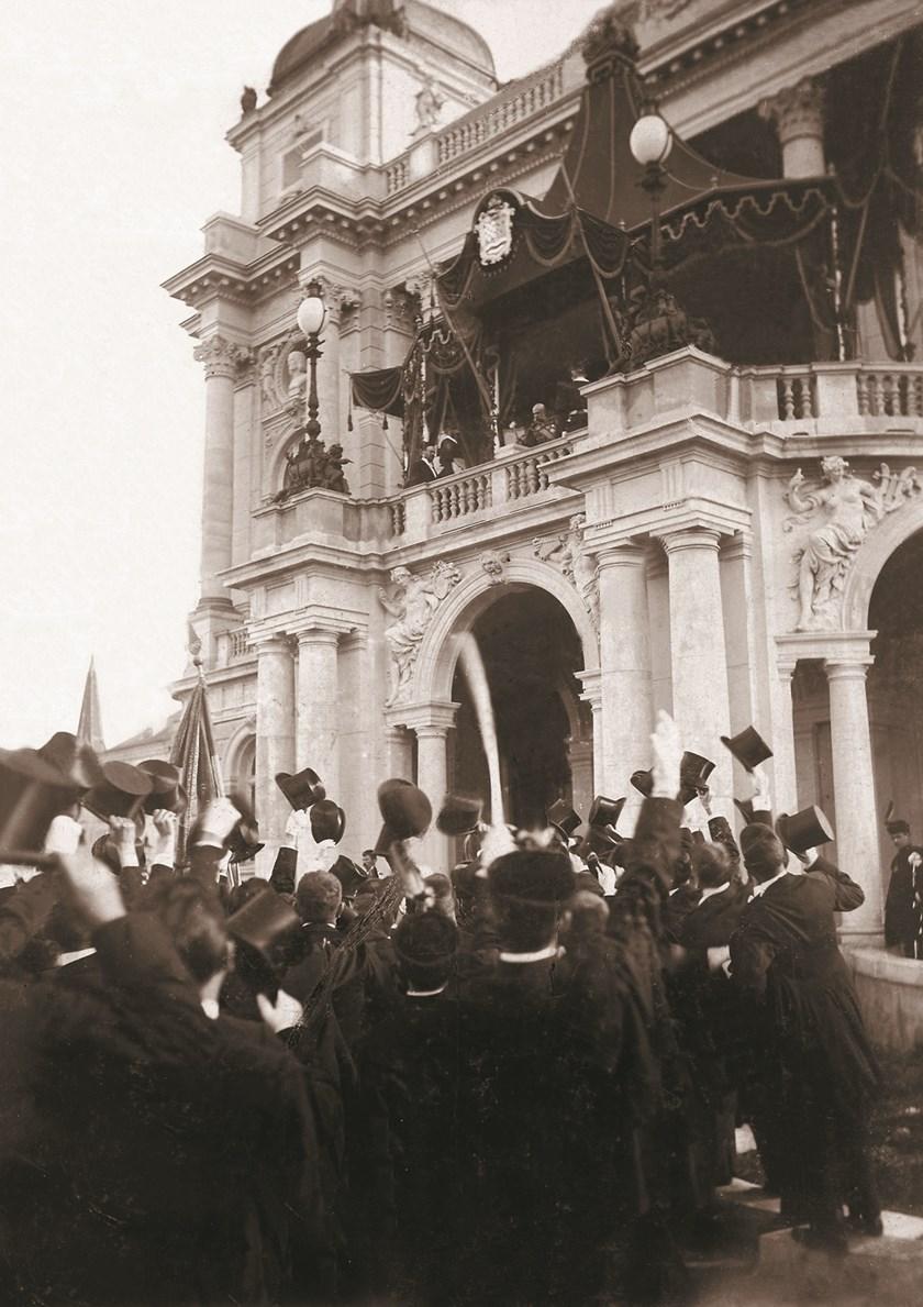 Car josip Franjo I. otvara hnk