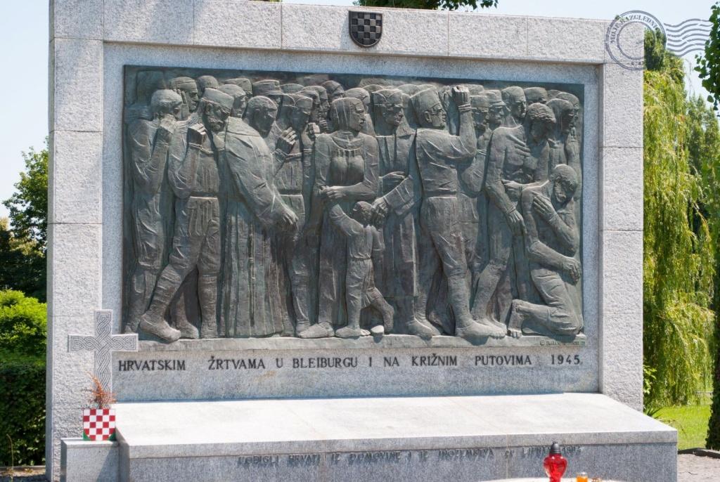 Mirogoj, spomenik žrtvama rata