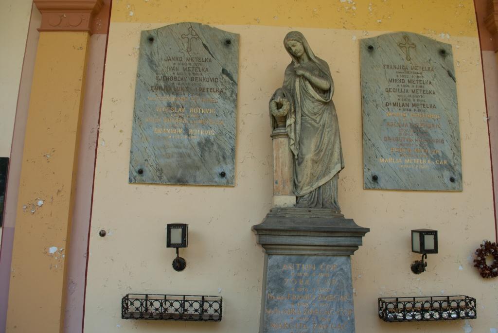 Skulptura, Arkade, Mirogoj