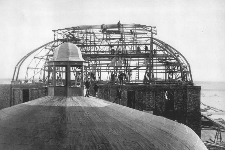 Gradnja krova HNK