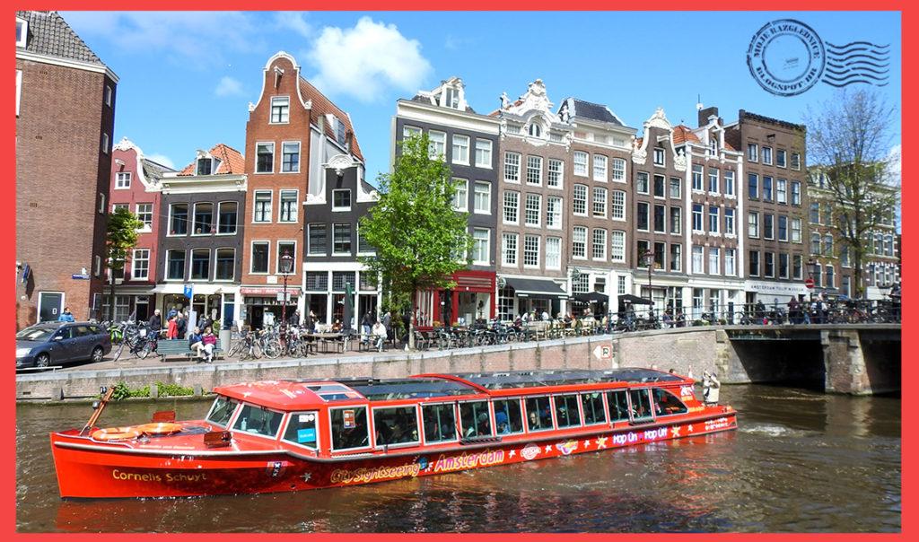 Amsterdam putopis, putovanje Nizozemska