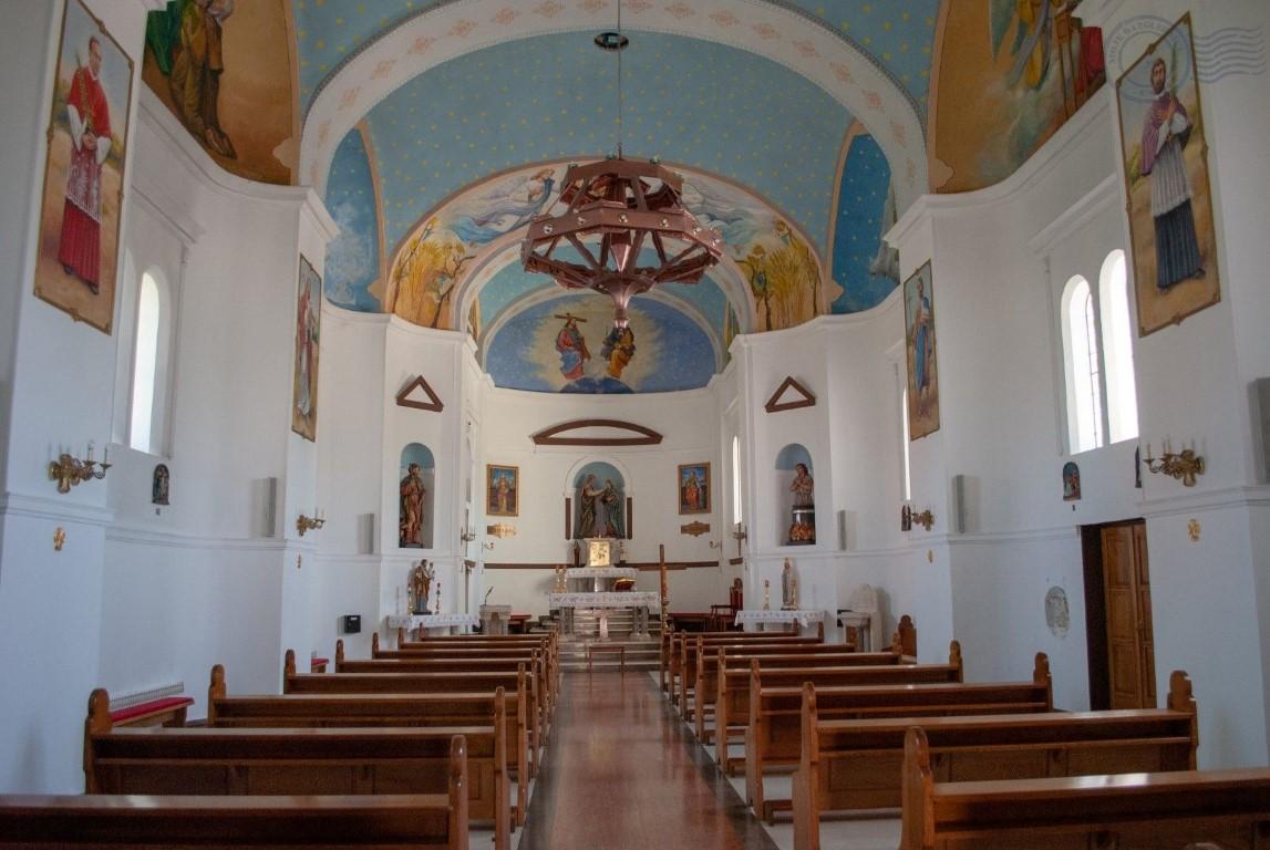 Topusko Crkva iznutra