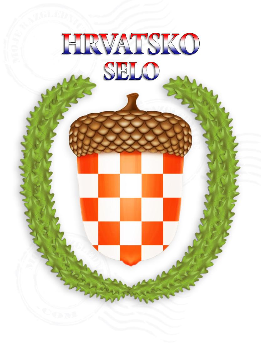 Hrvatsko Selo grb zastava