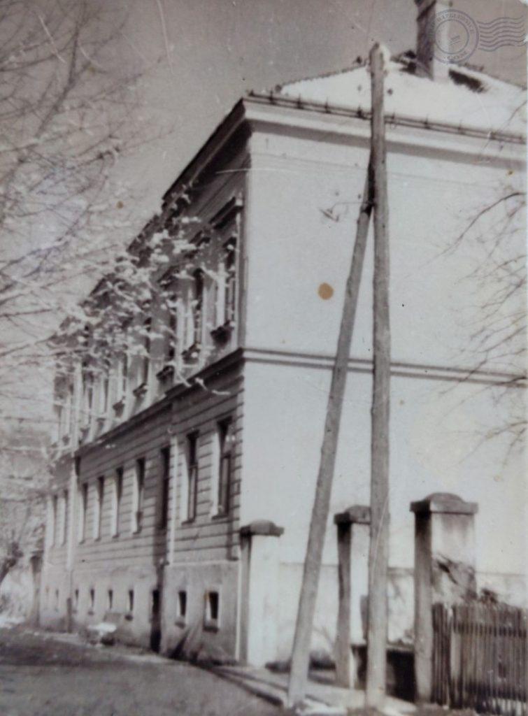 Stara Osnovna Škola u Topuskom i prvi razred Gimnazije